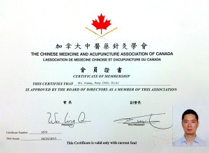 Certificate-Acupuncture-Fredericton